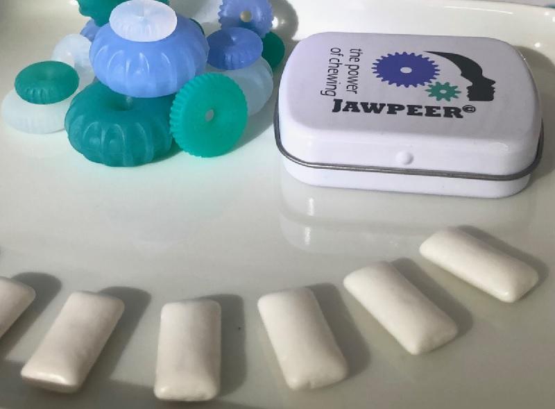 Elastiska tuggummin är mer tuggvänliga än plastiskt tuggummi