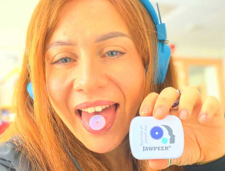 JAWPEER is a lifestyle product that fits active persons like BMX biking queen Tanja Anderman.
